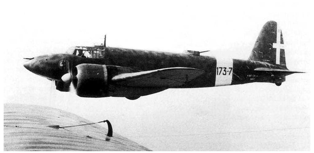 The Fiat CR.25 had an impressive speed that beat any of the Italian fighters in service.