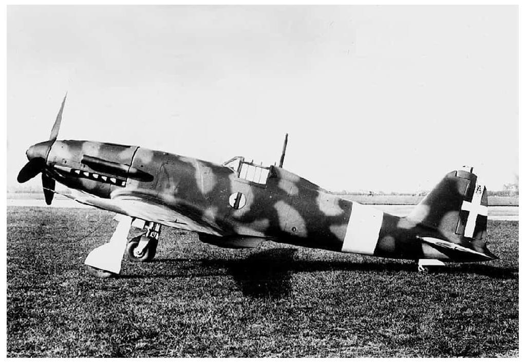 The second prototype of the Fiat G.55 Centauro.