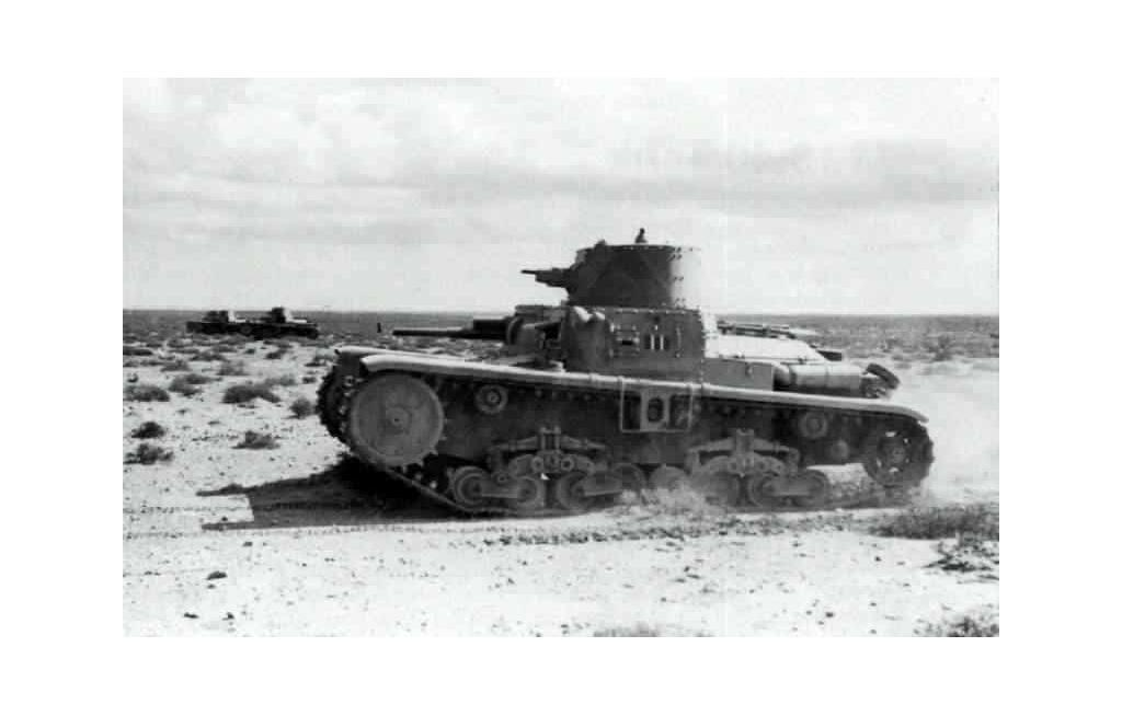 The M 11/39 in North Africa.
