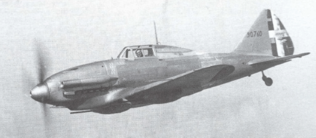 Reggiane Re.2001 CN with 20 mm cannons.