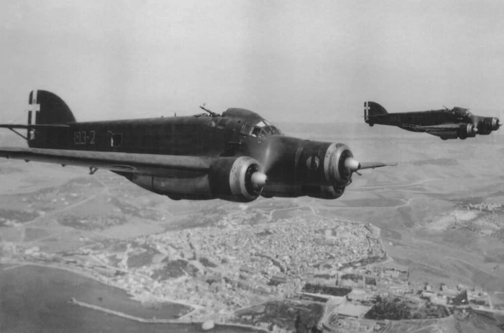 The deadliest Italian aircraft of World War Two is the Savoia-Marchetti SM.79 Sparviero.
