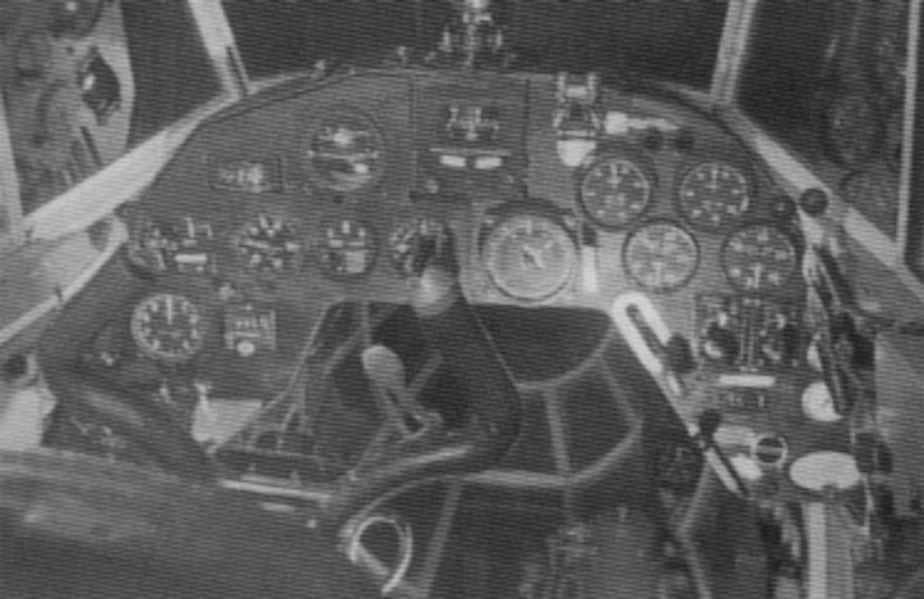 A look at the Z.1018 Leone cockpit.