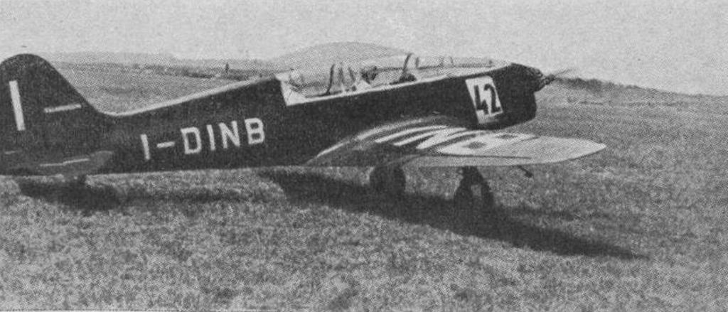 Ambrosini SAI.7 at the L'Aerophile in October 1939.