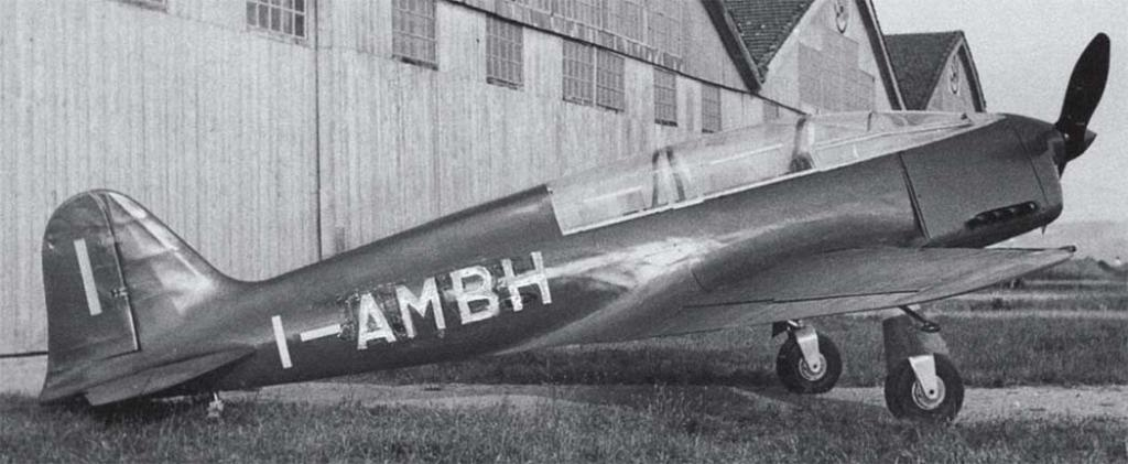 Ambrosini SAI.7. This image clearly shows the aerodynamic canopy.
