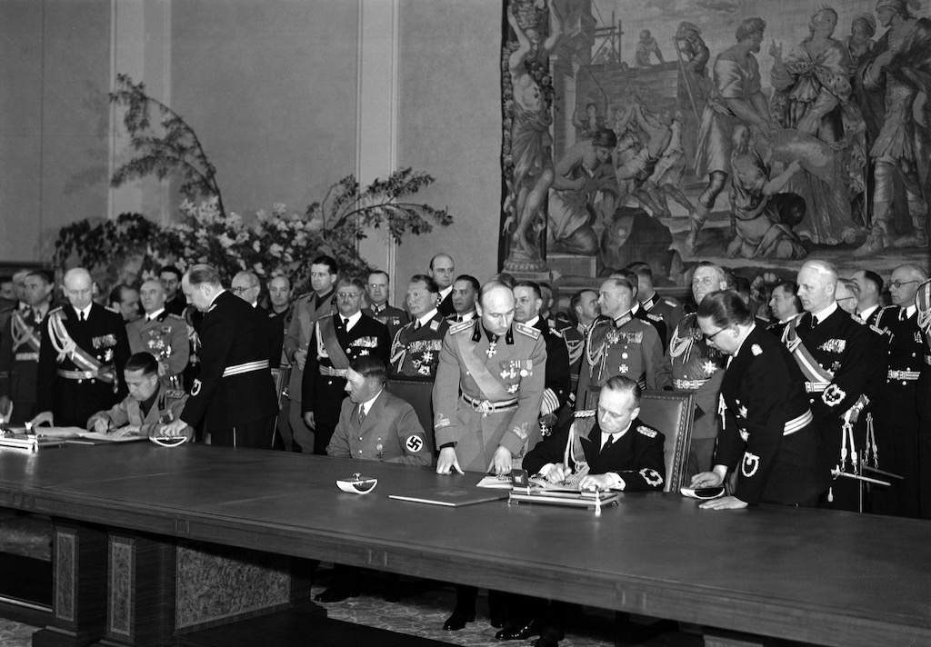 signing of the pact of steel before world war two