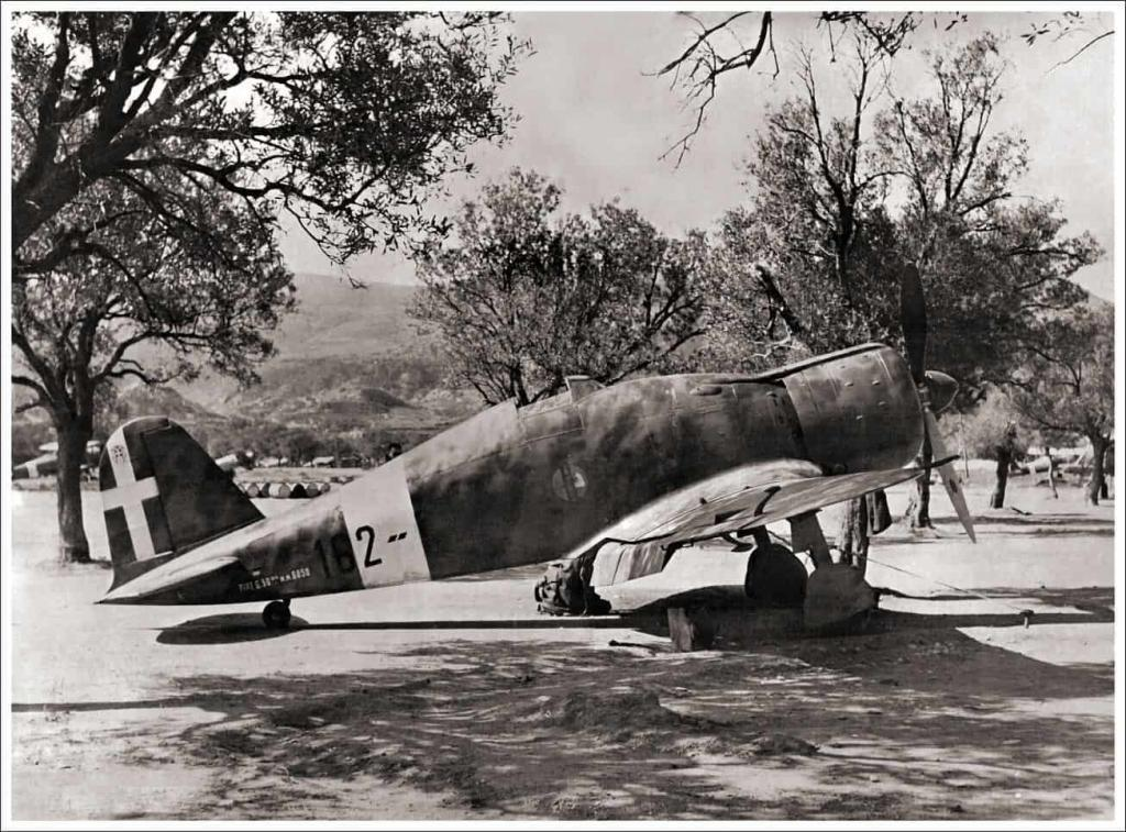 A Fiat G50 Freccia from the.162 Squadriglia in Rhodes Greece. Image taken in January 1942.