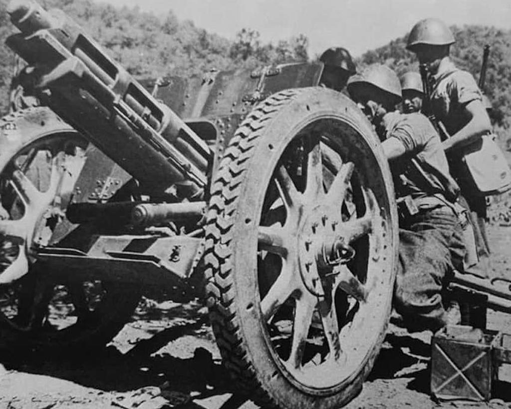 The Obice da 75/18 modello 34 was an efficient howitzer.