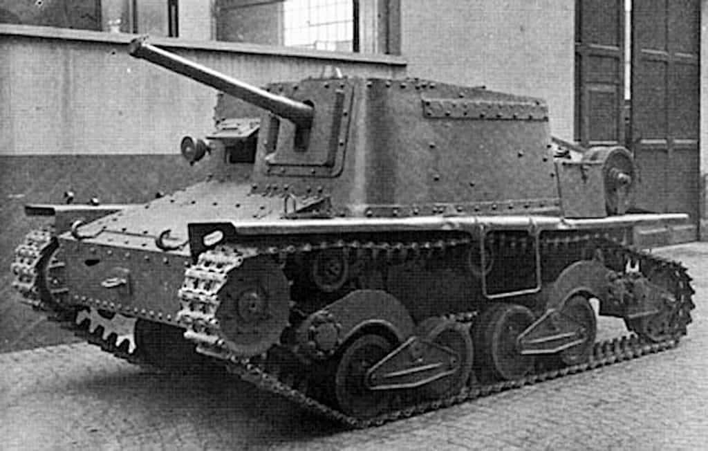 Second prototype of the Semovente da 47/32.