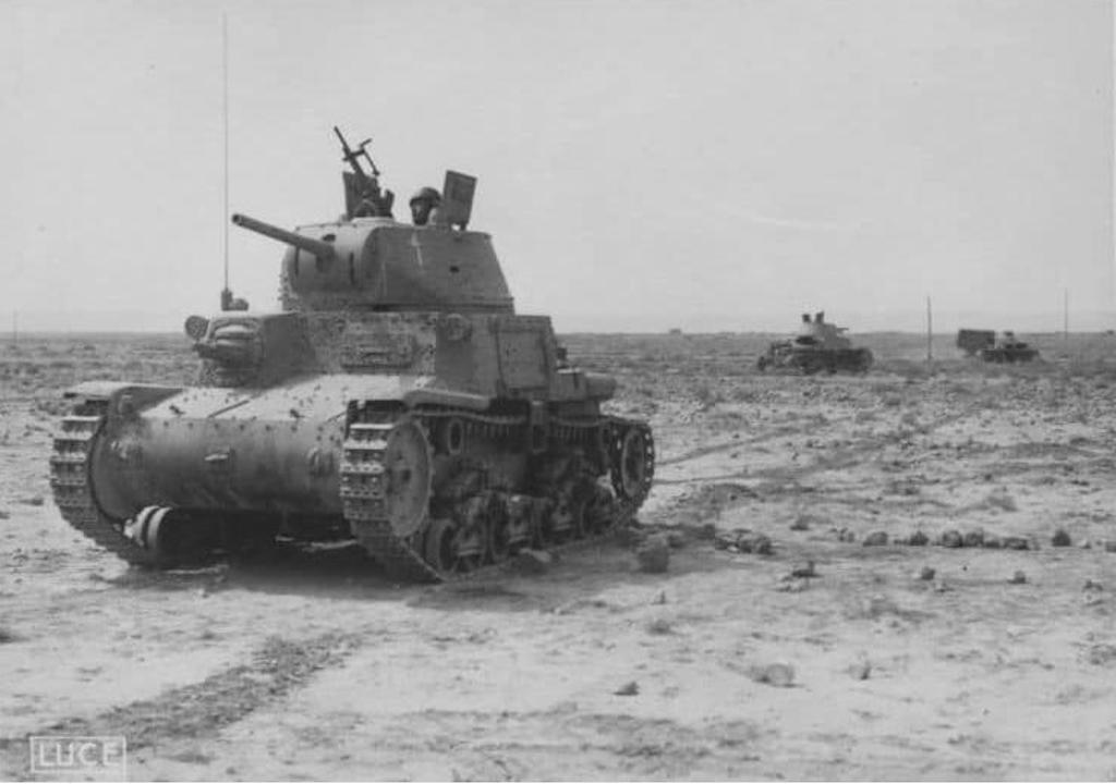 Carro Armato M14/41 in North Africa.