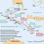 Map of the Battle of Cape Matapan. Image Credit: Warfare History Network
