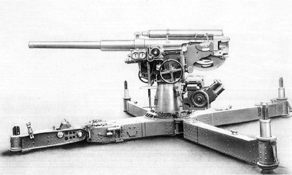 The Cannone da 75/46 C.A. modello 34.
