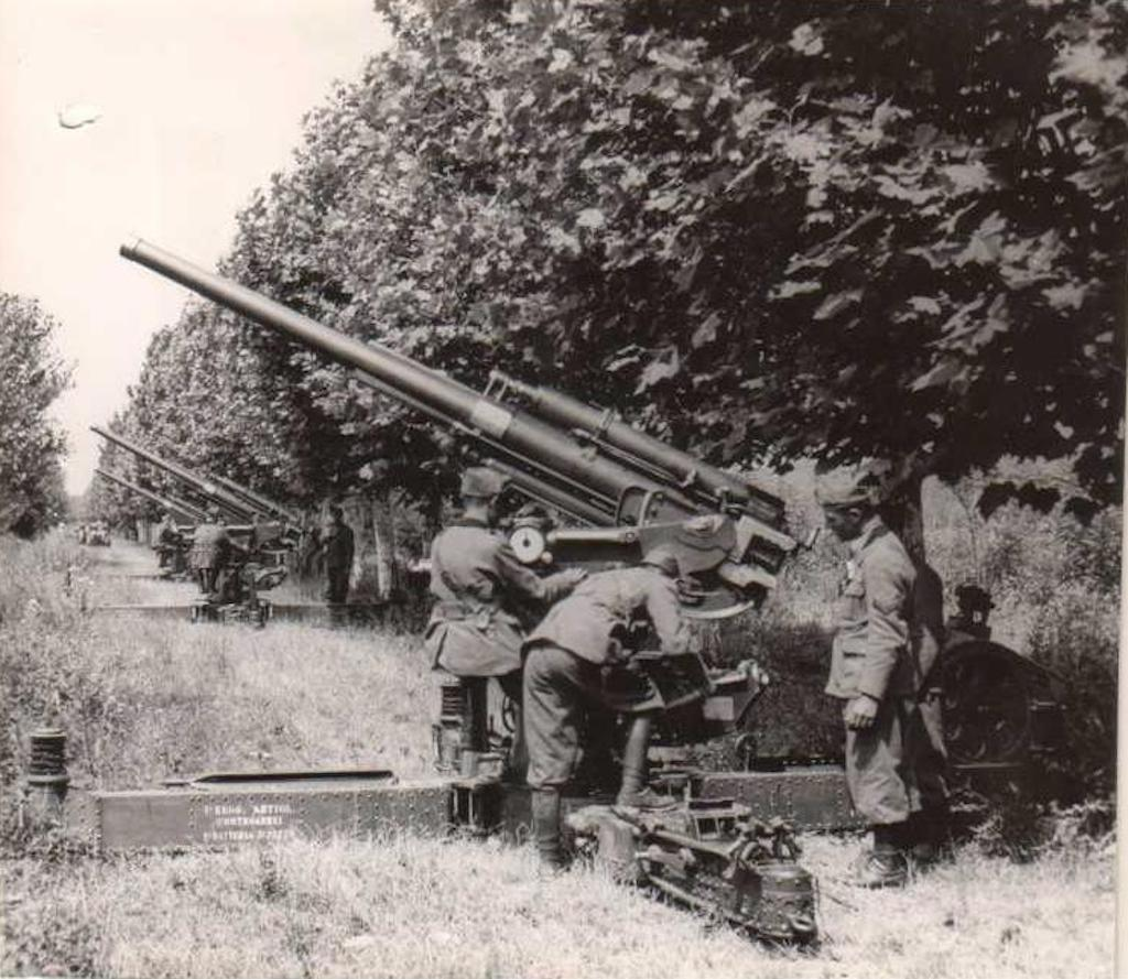 A clearer image of the Cannone da 75/46.
