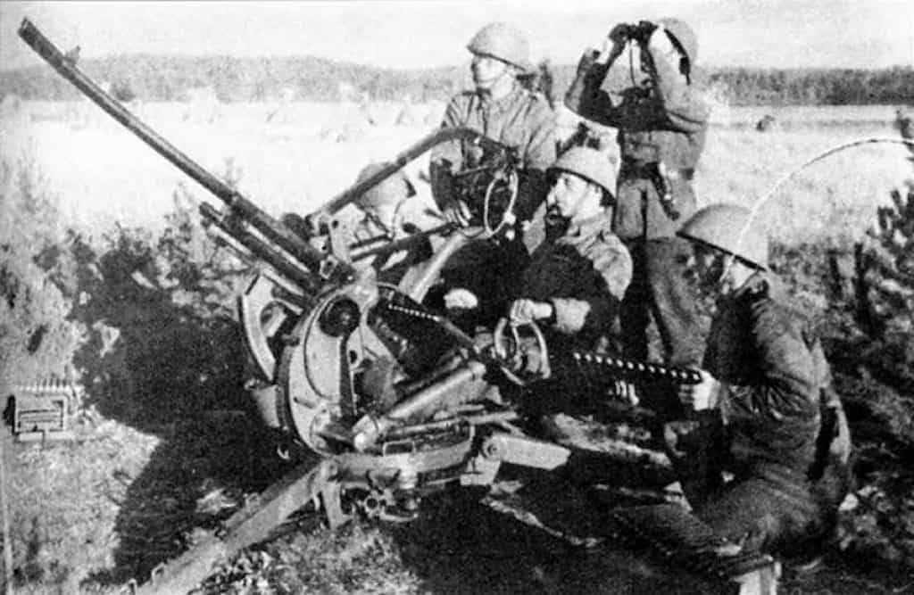 The Model 35 was an effective anti-aircraft weapon.