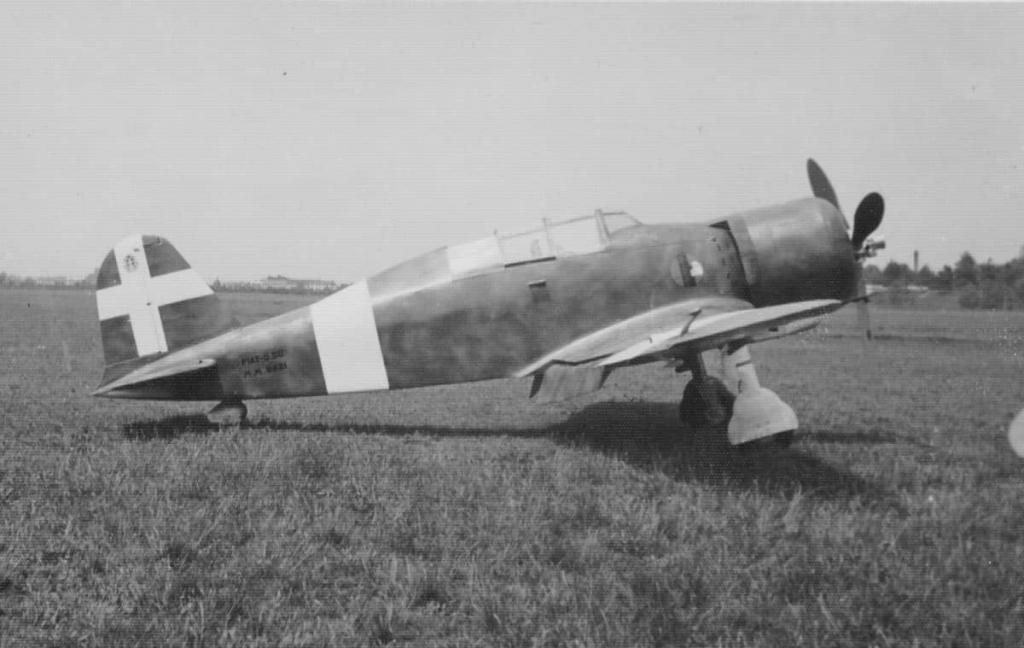 The Fiat G.50B is a two seater version of the Fiat G.50 Freccia.