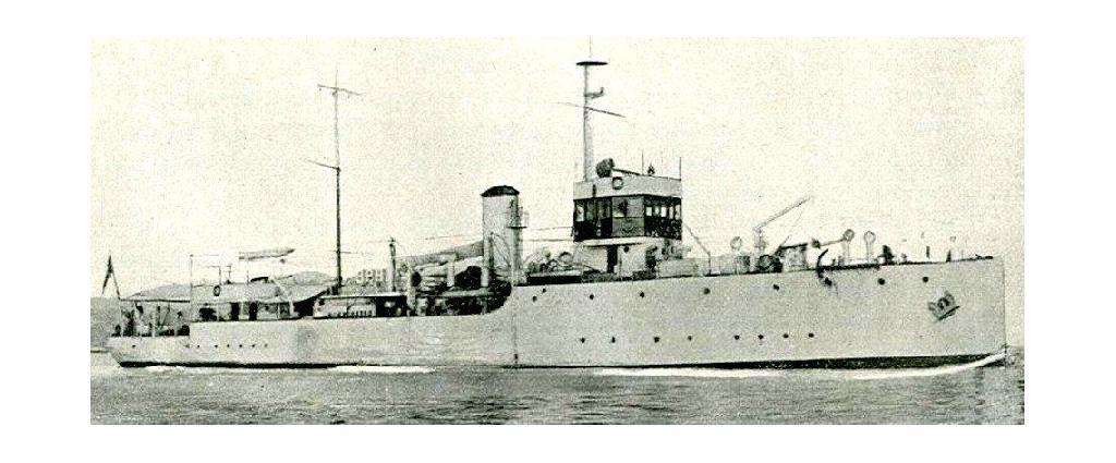 Gunboat Lepanto in China