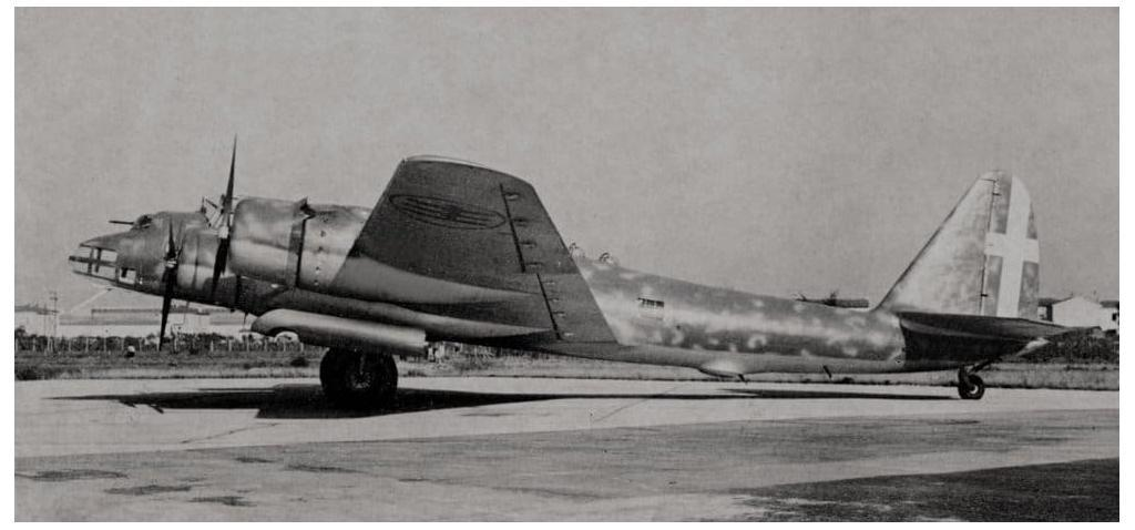 The Piaggio P108 was an impressive Italian Heavy Bomber with many technological innovations.