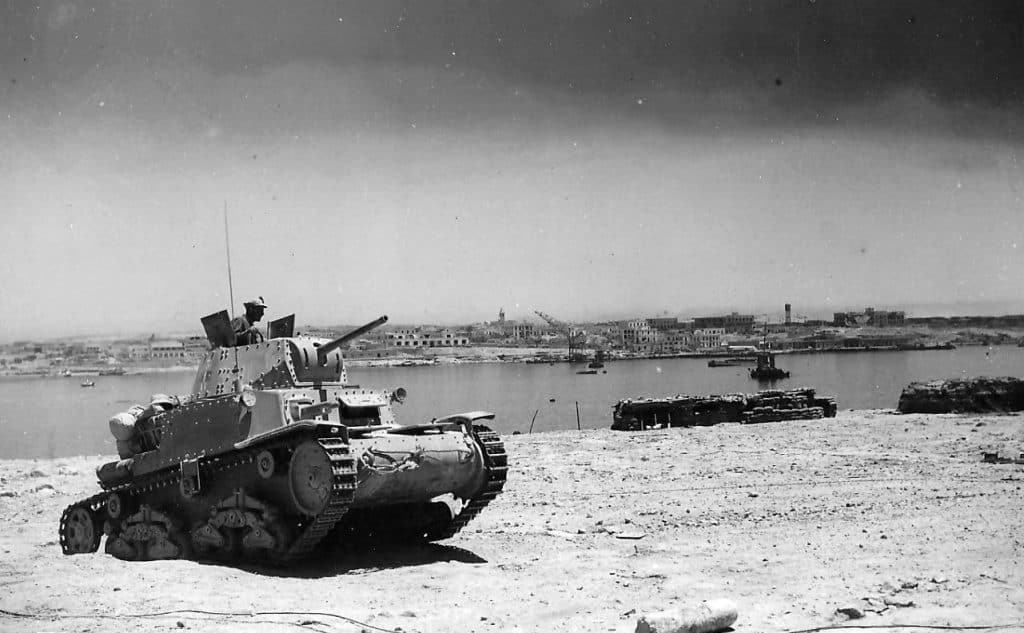 In the summer of 1940, the Italian M13/40 was still the most powerful tank in the desert.
