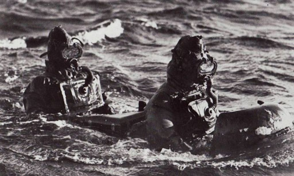 The Italian Human Torpedo required a two man crew.