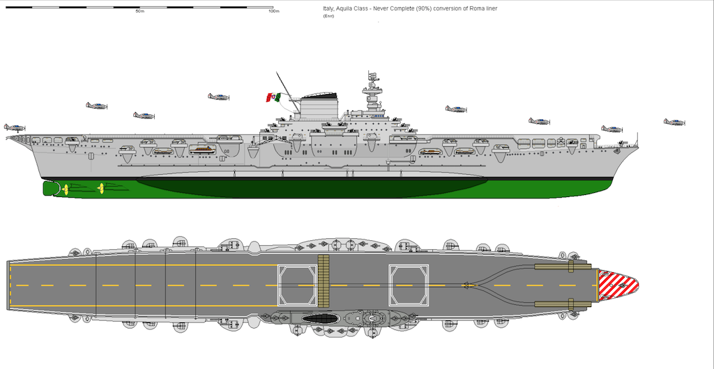 The Italian carrier Aquila profile.