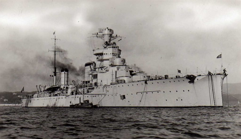 Alberto di Giussano class cruiser Giovanni Delle Bande Nere is a member of the Condottieri class cruiser line.