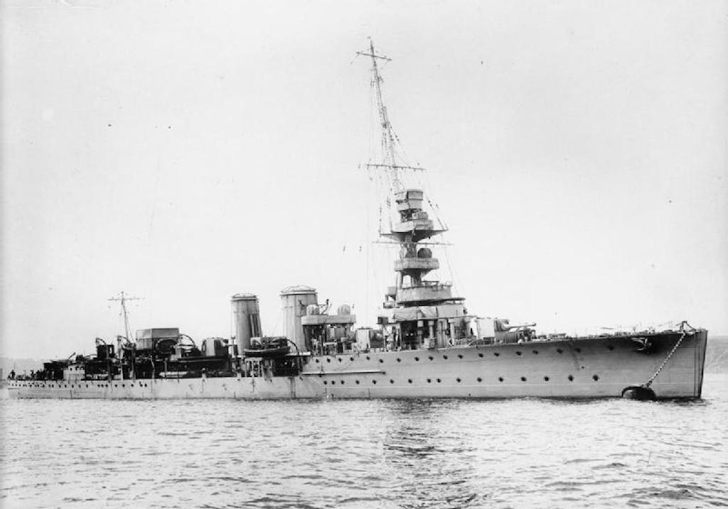 HMS Calypso was the first Royal Navy ship sunk in the Mediterranean in WW2.