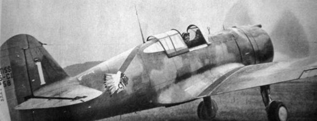 The Hawk 75 was a highly maneuverable dogfighter. Substituting it with the P-40 was a huge backward step for the USAAF.