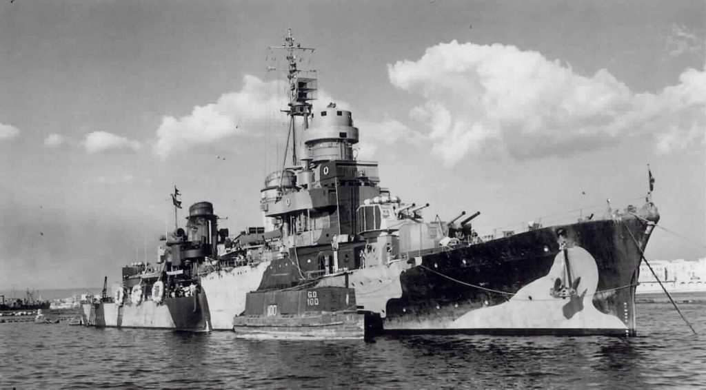 Scipione Africano in October 1943.
