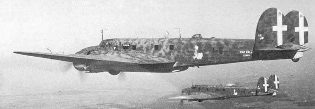 Compared with bombers of the other warring parties the Fiat BR.20M was at its peak in the Summer of 1940.