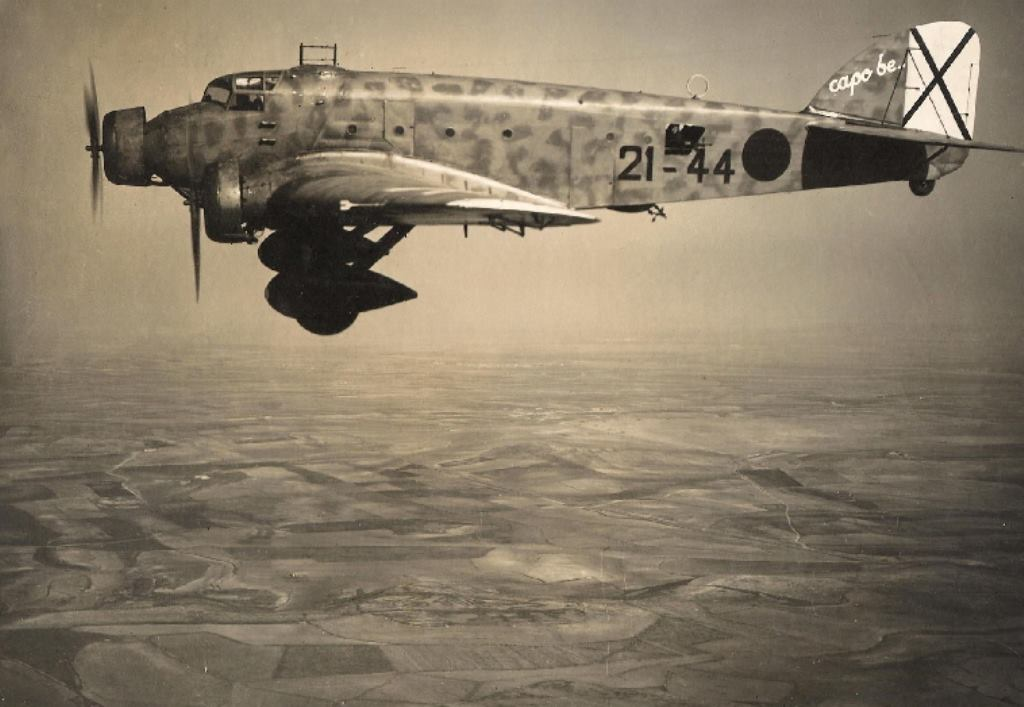 The Savoia Marchetti SM.81 Pipistrello during the Spanish Civil War.