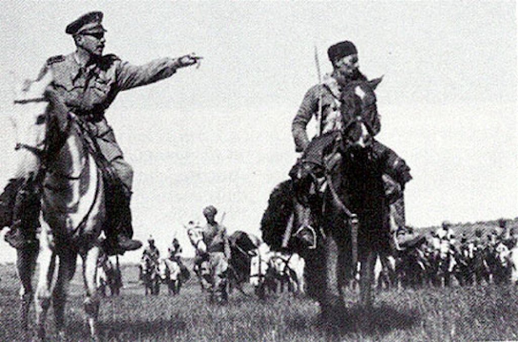 The Devil Commander with his Gruppo Bande in the Eritrean lowlands, 1940.