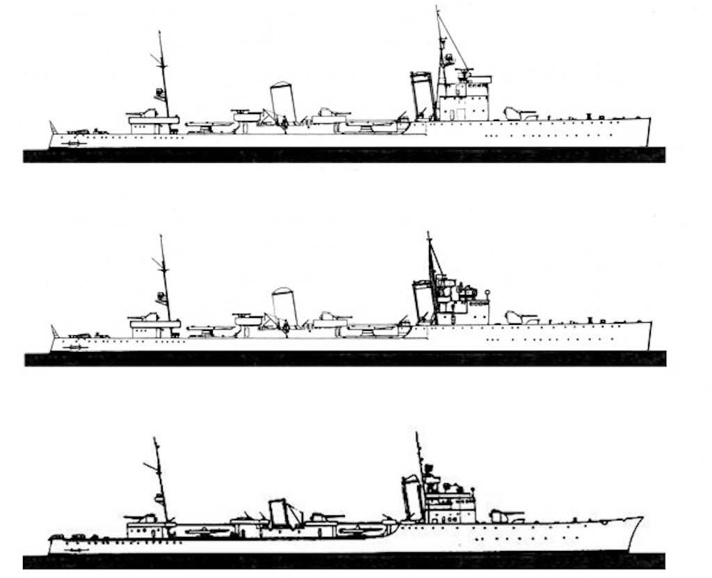 Modification of the class. The top image is the initial design and the bottom is the final design.