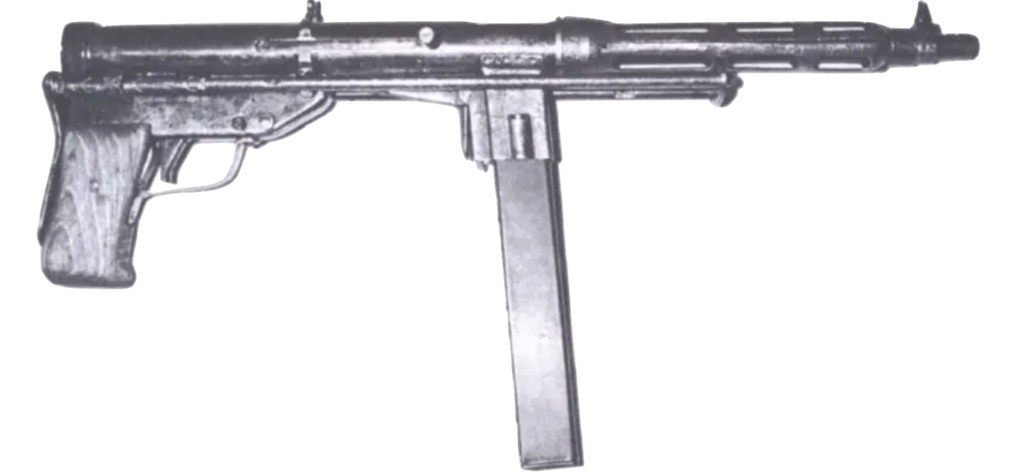 Side view of the TZ-45.