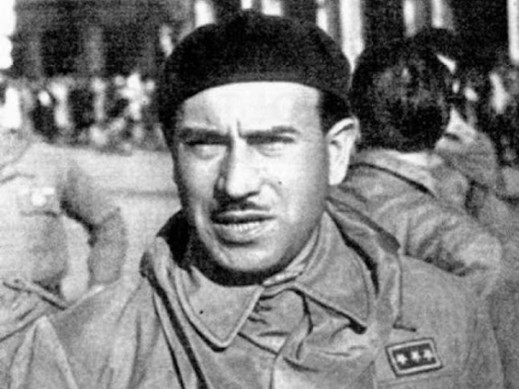 Colonel Valerio (AKA: Walter Audisio) claims to be responsible for mussolini's death.