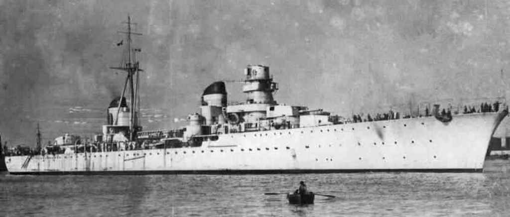 Eugenio di Savoia crippled HMS Bedouin in Operation Harpoon.