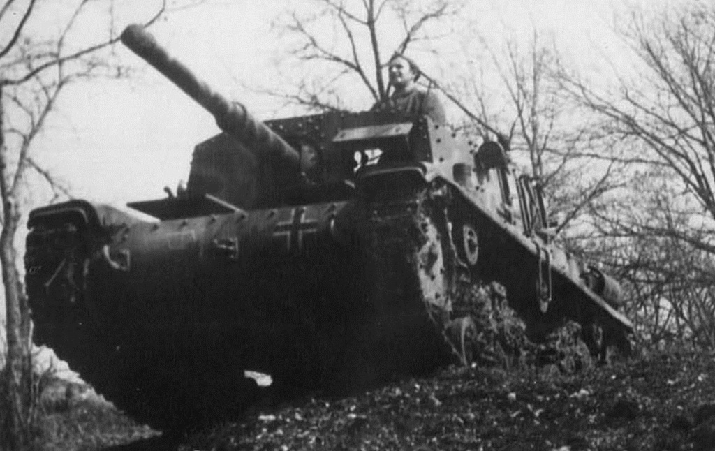 A Semovente da 75/34 in German service.